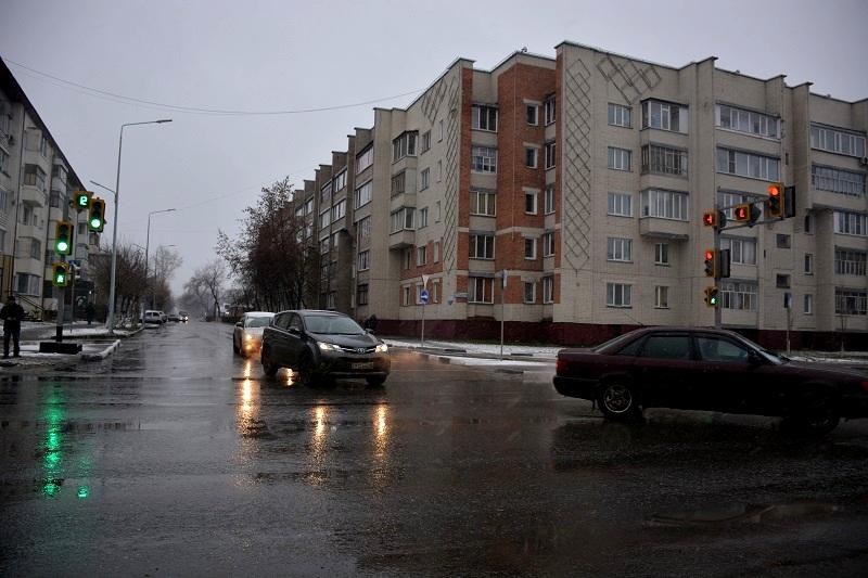Новый сигнал светофора появился в Петропавловске