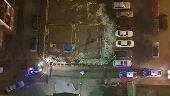 Молодой человек выбросился с 23 этажа в Астане