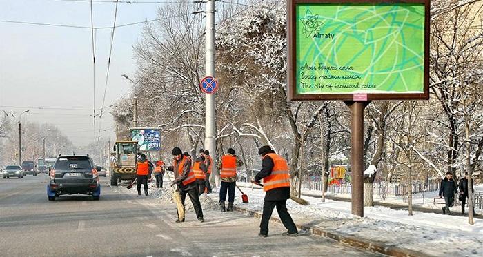 Готовность коммунальных служб к зиме проверил аким Алматы