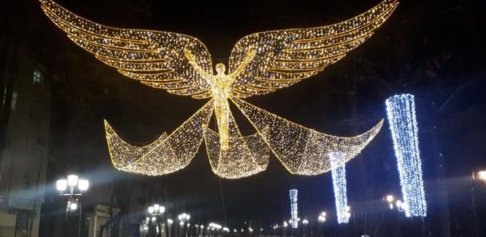 """Свой """"ангел"""" с крыльями появился у Шымкента"""