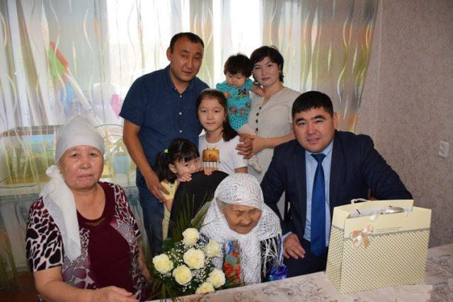 110 лет исполнилось жительнице Костаная