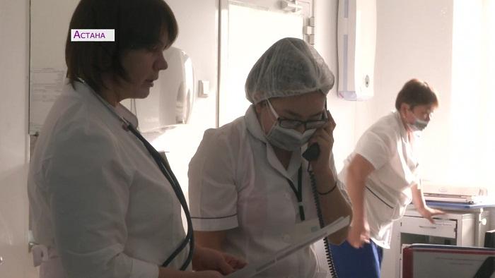 15 детей госпитализировали с корью в Астане