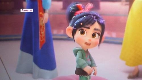 Премьера диснеевского мультфильма на казахском языке прошла в Алматы