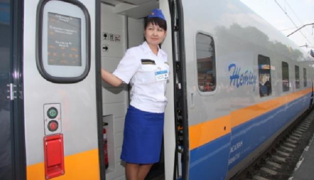 Изменилась нумерация пассажирских поездов «Тулпар-Тальго»