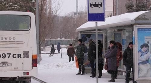Транспортный коллапс: водители автобусов не вышли на линии в Астане