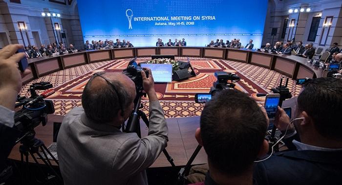 Очередной раунд переговоров по Сирии стартовал в Астане