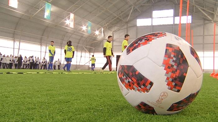 Алматылық оқушыларға арналған Jarys Arena спорт кешені салынды