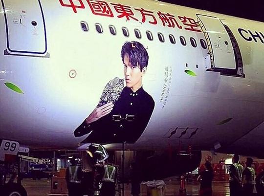 Димаш Кудайберген полетит в Китай на самолете с собственным изображением