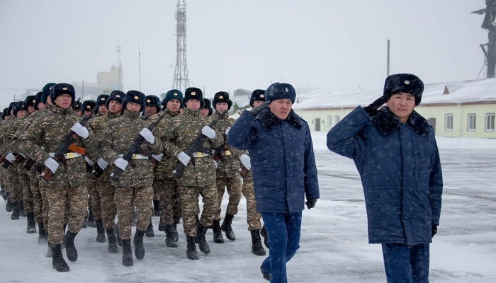 В воинских частях Сил воздушной обороны Казахстана приняли присягу