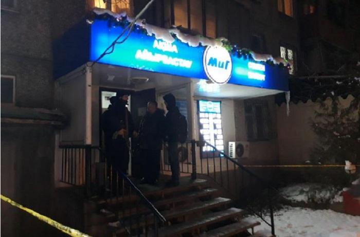 Обменный пункт пытались ограбить в Алматы