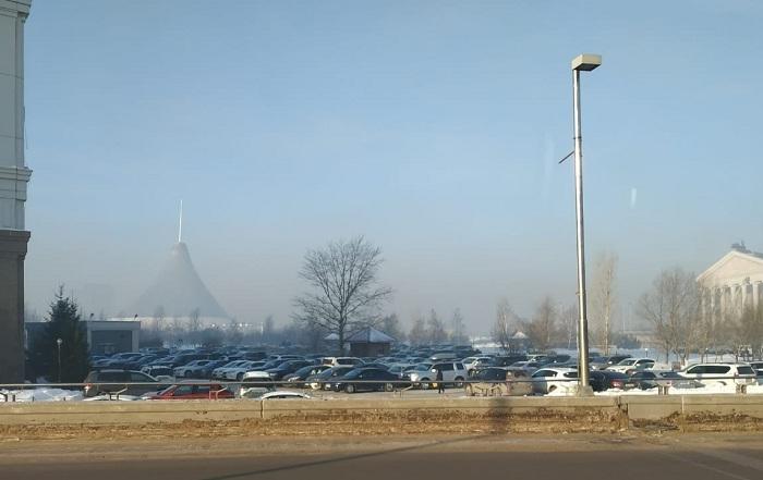 Жители Астаны жалуются на смог