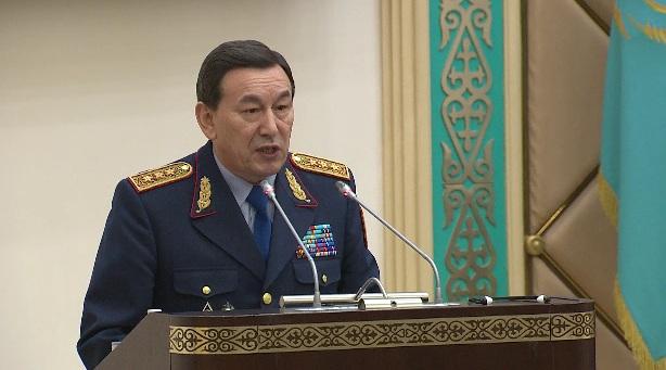 Касымов доложил сенаторам о сокращениях в аппарате МВД, зарплатах и новой форме