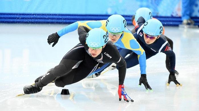 Кубок мира по шорт-треку проходит в Алматы