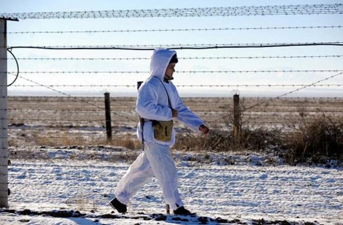 Сарыагашские пограничники задержали нарушителя (видео)