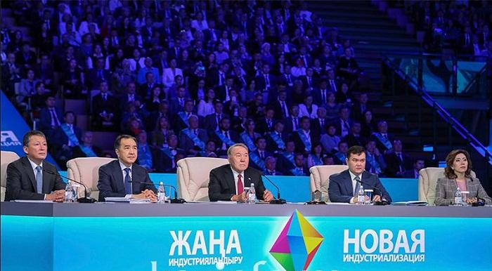 Нурсултан Назарбаев в День индустриализации запустил 28 новых предприятий