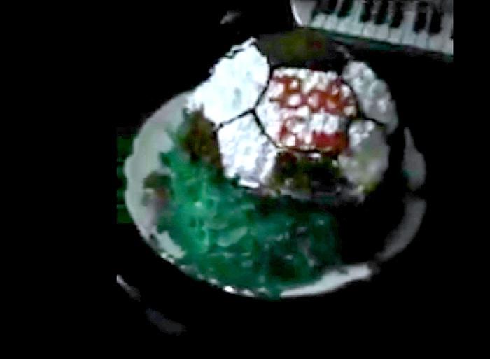 Семью в Уральске напугал несмываемый краситель в торте (видео)
