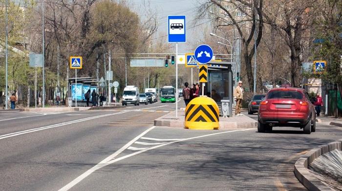 Строительство линии BRT по улице Жандосова в Алматы начнется в 2019 году