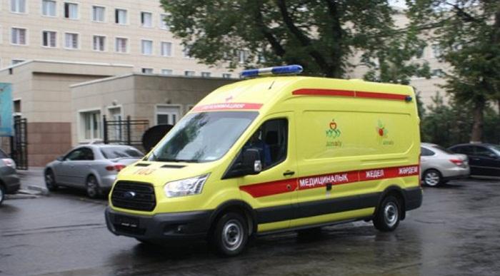 Водителю скорой помощи выстрелили в лицо в Алматы