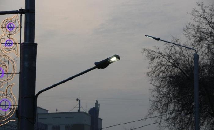 В чем особенность новых уличных фонарей в Алматы