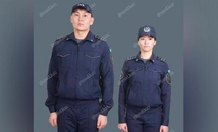 Представлен проект новой формы казахстанских полицейских