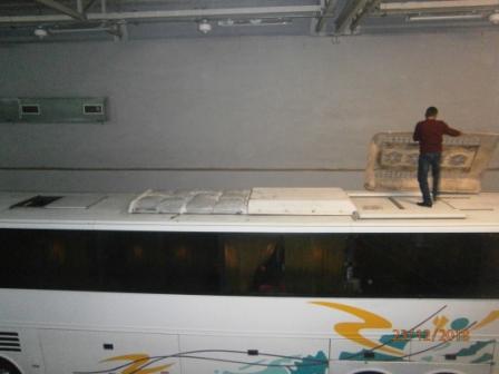 500 килограммов «насвая» пытались вывезти в автобусе из Казахстана в Россию