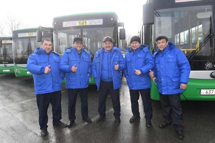 В Алматы обновили еще один автобусный маршрут