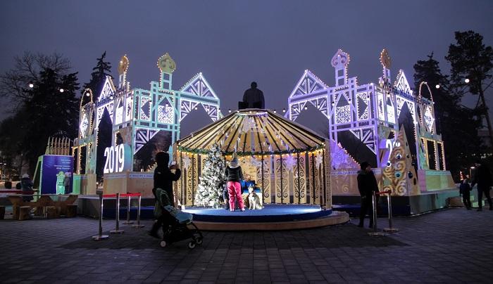 Новый год в Алматы: куда пойти, что посмотреть (фото)