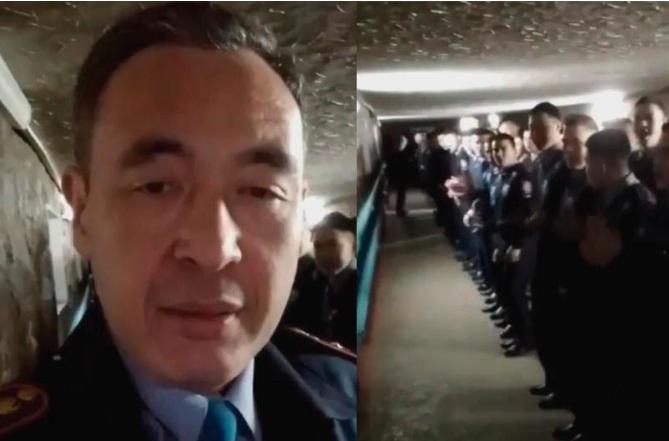 Полицейского из скандального видеоролика уволили – МВД РК