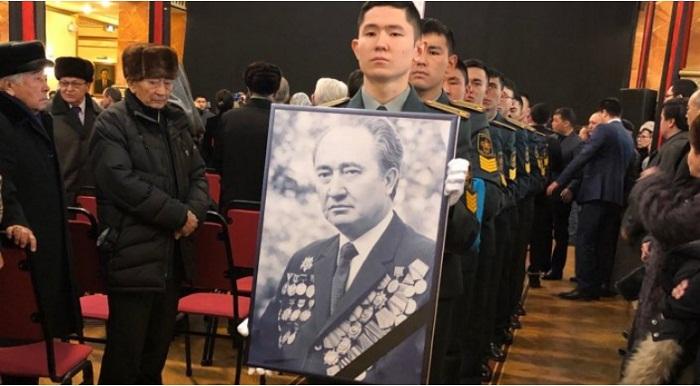 В Алматы простились с Султаном Джиенбаевым