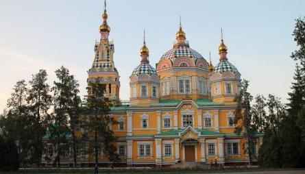 Реставрация Вознесенского кафедрального собора в Алматы завершится к Пасхе