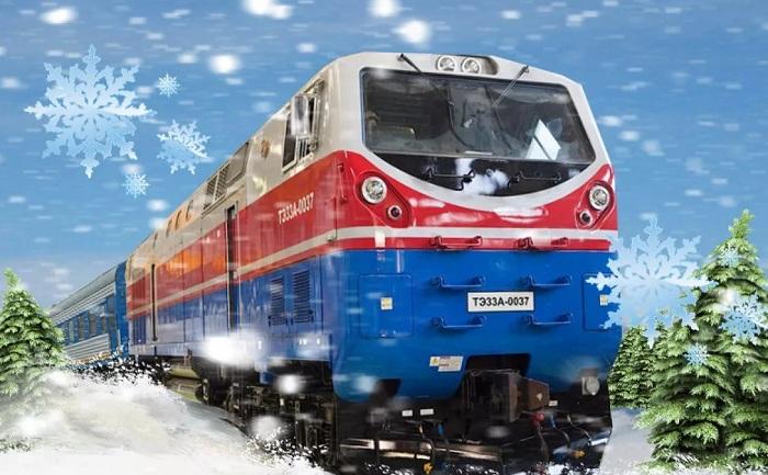 20 тысяч казахстанцев встретили Новый год в поездах (видео)