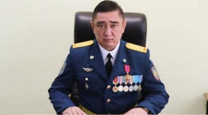 Назначен новый начальник ДЧС Алматинской области