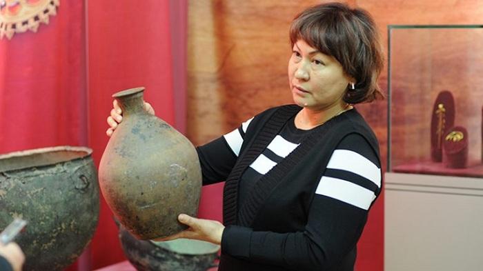 Уникальный артефакт нашли в Таразе в огороде частного дома