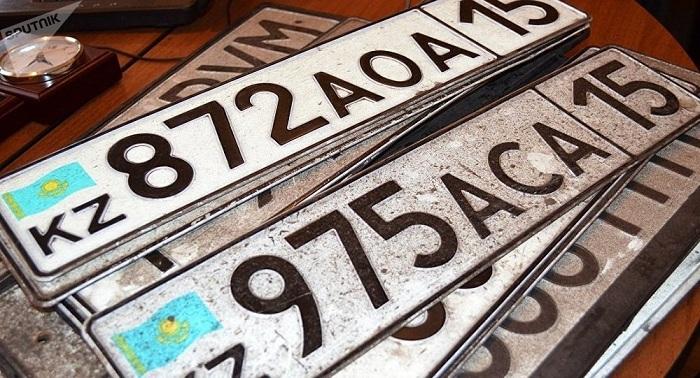 Госномер и документы на авто можно заказать с доставкой на дом в Казахстане