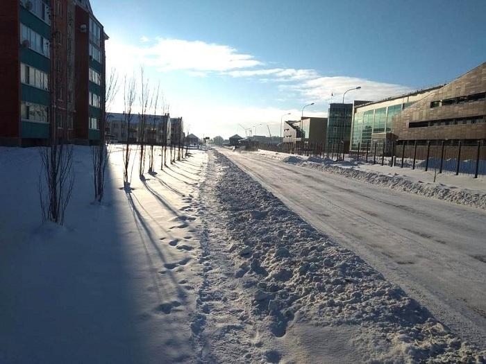 После ремонта дорог жителям Петропавловска стало сложно перемещаться по городу