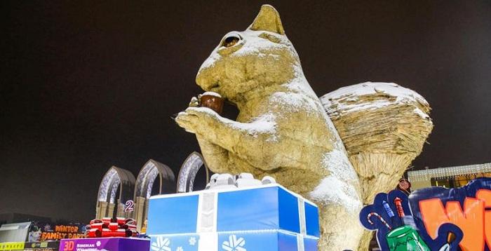 Знаменитую белку в Алматы, возможно, ждет рестайлинг