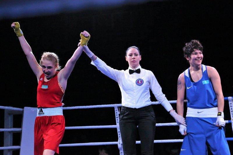 Женская сборная Казахстана по боксу заняла первое место на турнире «Кубок наций»