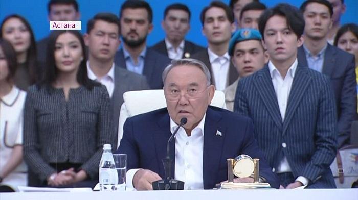 Встреча Нурсултана Назарбаева с молодежью Казахстана – как это было