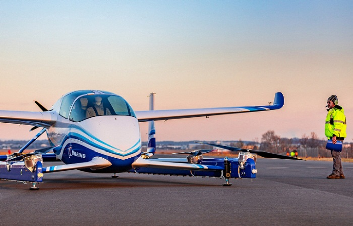 Беспилотное аэротакси впервые поднялось в воздух