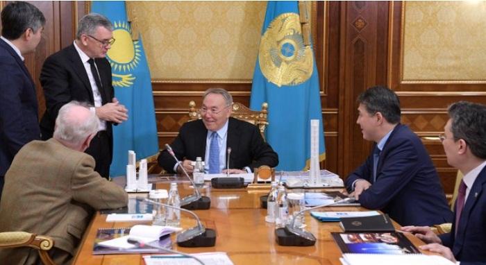 Назарбаев одобрил проект Всемирного торгового центра в Астане