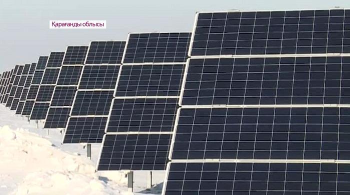Крупнейшую солнечную электростанцию в ЦА запустили в Карагандинской области