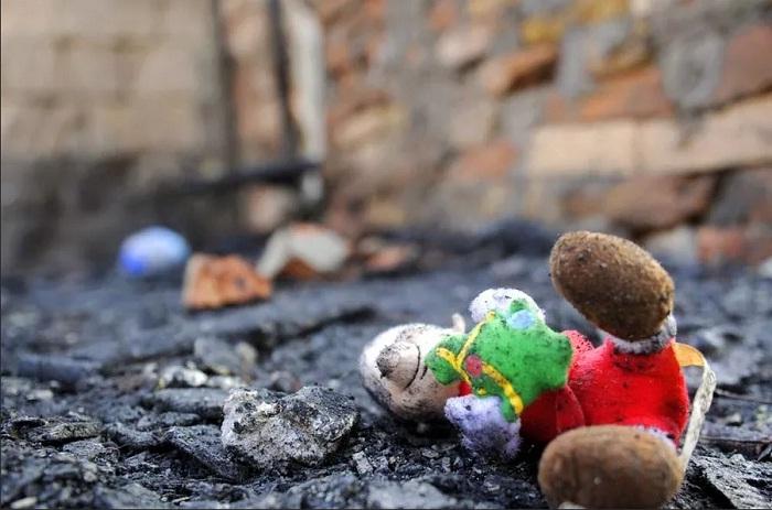 Маленький ребенок погиб в пожаре в Карагандинской области