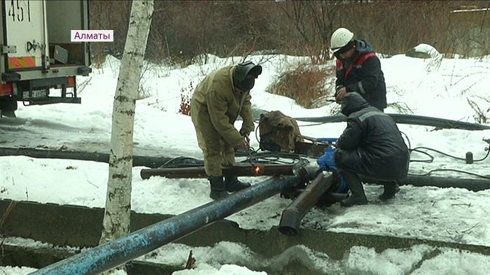 Бесперебойная подача питьевой воды налажена в Наурызбайском районе