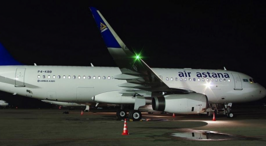 Пассажирка скончалась на борту самолета Air Astana