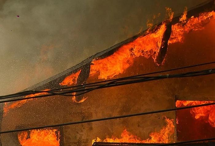 Заживо сгорела женщина в Костанае