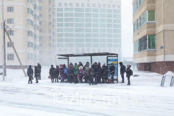 В сильные морозы астанчане призывают подвозить друг друга бесплатно