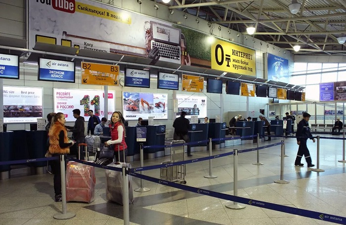 Мужчина пытался проникнуть в самолет, притворившись сотрудником аэропорта Алматы