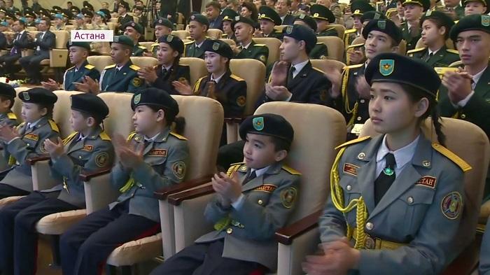 Алматыда «Жас сарбаз» әскери-патриоттық қозғалысының филиалы ашылады