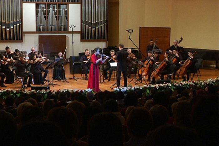 Гала-концертом завершилась серия мастер-классов по скрипке для профессионалов в Алматы