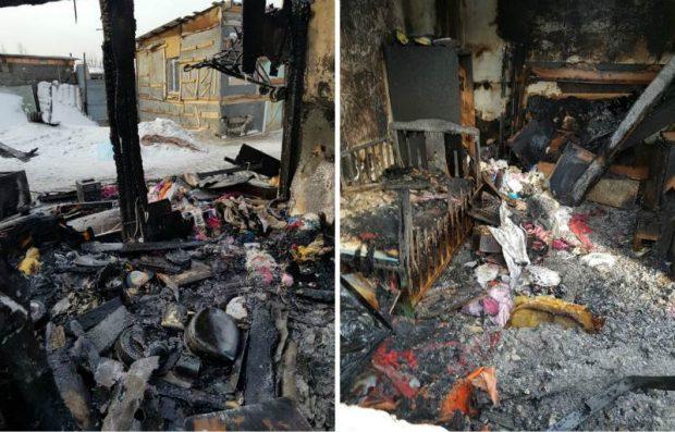 Названа точная причина пожара, в котором погибли пятеро детей в Астане
